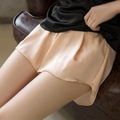 安全褲 防走光女夏天寬鬆大碼可外穿打底褲短褲薄款內搭保險褲冰絲【快速出貨】