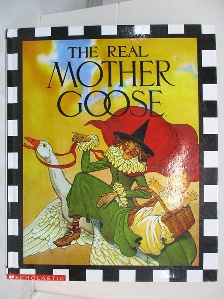 【書寶二手書T8/少年童書_DC1】The Real Mother Goose_Wright, Blanche Fisher (ILT)