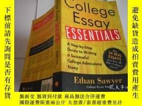 二手書博民逛書店College罕見Essay ESSENTIALS A Step