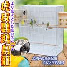 【培菓平價寵物網】dyy》低碳鋼材加寬鐵鸚鵡|大鳥籠系列77*46*90.5cm