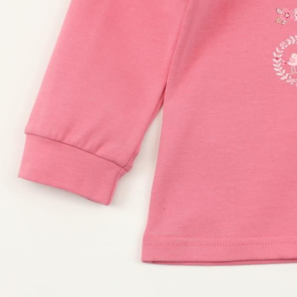 【愛的世界】彈性立領束袖長袖上衣/2~4歲-台灣製- ★秋冬上著