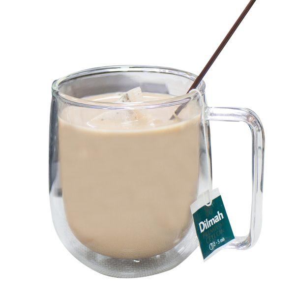 樂嫚妮 雙層玻璃杯 咖啡杯 茶杯 水杯 雙層耐熱 單柄 把手 250ml