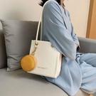 法國質感小包包2020新款潮時尚大容量單肩百搭女士手提托特包 【端午節特惠】