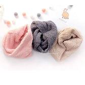 韓國空運mango tango甜甜圈圍脖絨毛保暖圍巾-兒童款 兒童圍巾 脖圍 絨毛圍巾