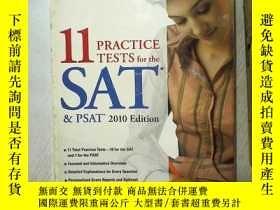 二手書博民逛書店11罕見PRACTICE TESTS FOR THE SAT P