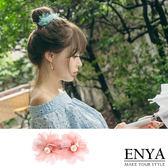典雅浪漫雪紡髮夾Enya 恩雅正韓飾品~HASS6 ~