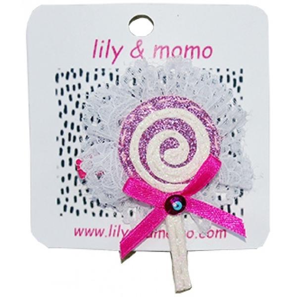 【美國 Lily & Momo】手工童趣髮飾-棒棒糖 #HCA366