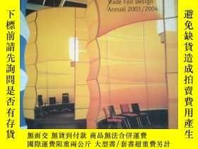 二手書博民逛書店Messedesign罕見Jahrbuch 2003 2004 Trade Fair Design Annual