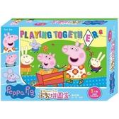 木製拼圖盒 粉紅豬小妹