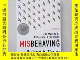 二手書博民逛書店Misbehaving:罕見The Making Of Beha