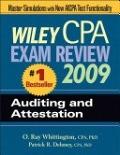 二手書 Wiley CPA Exam Review 2009: Auditing and Attestation (Wiley CPA Examination Review: Auditing R2Y 9780470286012
