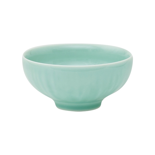 安達窯 青瓷 藕遇碗