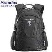 後背包sumdex 15 4 吋筆電包電腦包附雨衣套PON 368