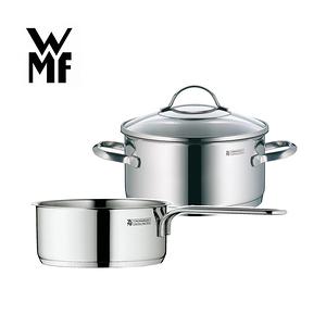 【德國WMF】PROVENCE PLUS低身湯鍋24cm+單手鍋14cm