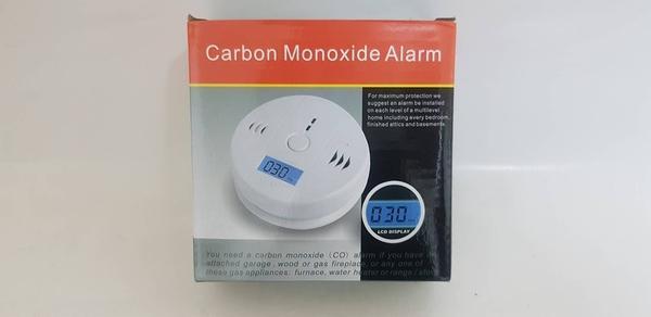 獨立式一氧化碳(CO2)警報器 接電池型 居家安全 廠辦.滅火器(CE認證保固2年)