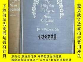 二手書博民逛書店【罕見】1897年 The Pilgrim Fathers of