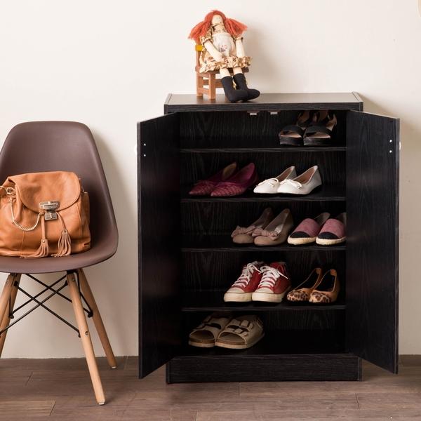 鞋架 日式 玄關 收納櫃【收納屋】凱薩雙門鞋櫃& DIY組合傢俱
