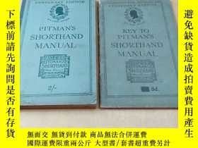 二手書博民逛書店KEY罕見TO PITMAN S SHORTHAND MANUA