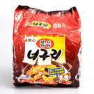 韓國【農心】浣熊香辣海鮮炒烏龍麵 4入