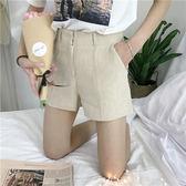 短褲女裝韓版百搭高腰西裝短褲