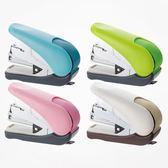 日本PLUS普樂士訂書機學生用可愛小清新手握式訂書器小號辦公省力釘書機