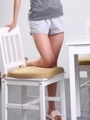 愛之舟記憶棉墊子坐墊辦公室餐椅墊凳子屁墊防滑椅墊椅子坐墊座墊 星期八