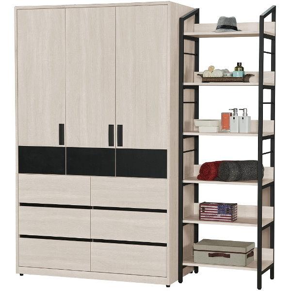 衣櫃 衣櫥 QW-032-25 祖克柏6尺衣櫃【大眾家居舘】