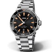 Oris豪利時Aquis時間之海300米潛水錶 0173377304159-0782405PEB