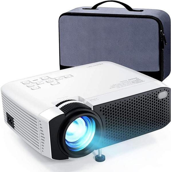 【日本代購】APEMAN 小型 投影儀 LED 4000lm 1080P 手機/電腦/平板電腦/遊戲機 可連接