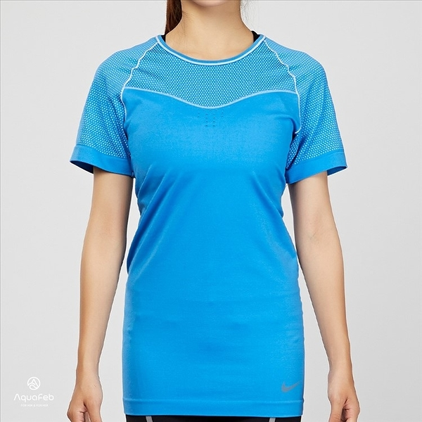 Nike Pro Hypercool Limitless 天空藍 運動 緊身短袖 725648-435