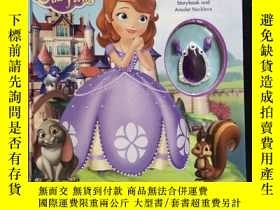 二手書博民逛書店英文原版罕見BECOMING A PRINCESS storybook and amulet necklace含附