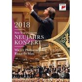 2018維也納新年音樂會 黎卡多慕提 & 維也納愛樂 DVD (OS小舖)