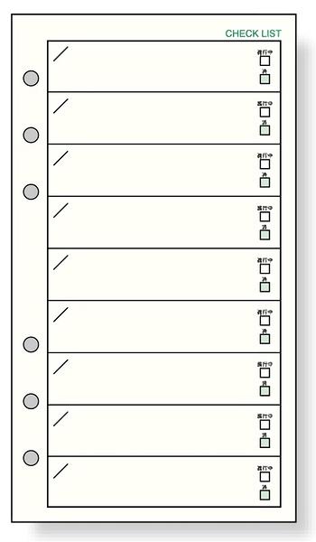 Raymay Davinci系列 重要及注意事項確認內頁紙 聖書尺寸6孔萬用手冊 手帳用 DR285 宣弟精品文具館
