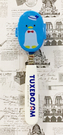 【震撼精品百貨】Tuxedo Sam Sanrio 山姆藍企鵝~三麗鷗叉子造型附盒-海軍*40008
