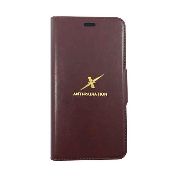 Moxie X-Shell 360° 摩新 360度旋轉 iPhone Xs / X 防電磁波手機套 皮套 棕