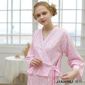 日繫可愛甜美公主中裙繫帶開衫家居裙