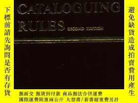 二手書博民逛書店Anglo-American罕見Cataloguing Rule