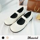 包鞋 圓頭壓紋平底鞋 MA女鞋 T3525