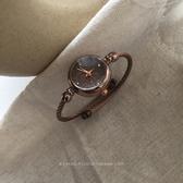 流行女錶 別樣A99韓風簡約chic時尚氣質石英錶複古文藝ins小錶盤手?手錶女 快速出貨