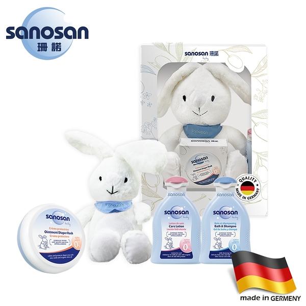 德國sanosan珊諾-QQ兔寵愛妮禮盒