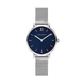 【Paul Hewitt】德國船錨簡約時尚米蘭腕錶-寶藍款/PH-SA-S-XS-B-45S/台灣總代理公司貨享兩年保固