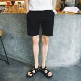 【雙11】休閒短褲男夏天正韓男士西褲修身青年潮流五分褲休閒褲子中褲折300