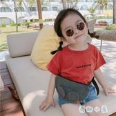 女童短袖T恤夏嬰兒童純棉半袖韓版休閒上衣【奇趣小屋】