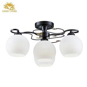 HONEY COMB 玻璃燈罩半吸頂燈 BL-10803