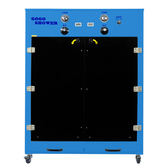 【GOGOSHOWER狗狗笑了】雙門三馬達UV-C除菌寵物烘毛箱-深海藍
