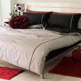《40支紗》雙人加大床包兩用被套枕套四件式【真實】繽紛玩色系列 100%精梳棉-麗塔LITA-