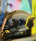 RSV安全帽,TESLA可樂帽,騎兵/消光黑黃