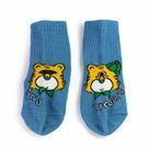 MIT 兩隻老虎品牌襪 中大童襪 藍色 (M) 21~24.5CM