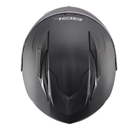 [東門城] SOL SF-3 素色 平黑 全罩式安全帽