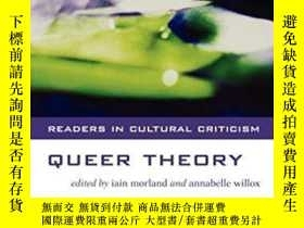 二手書博民逛書店Queer罕見Theory (readers In Cultural Criticism)Y364153 Su